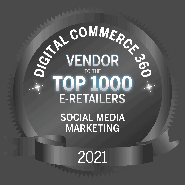 social media internet retail badge