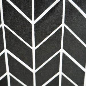 Jodełka czarno-biała