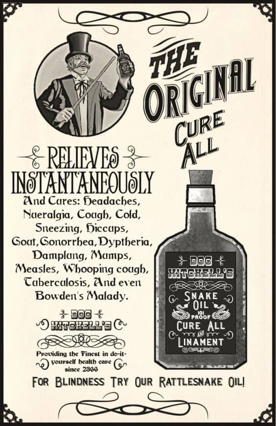 Fake cure-all for snoring