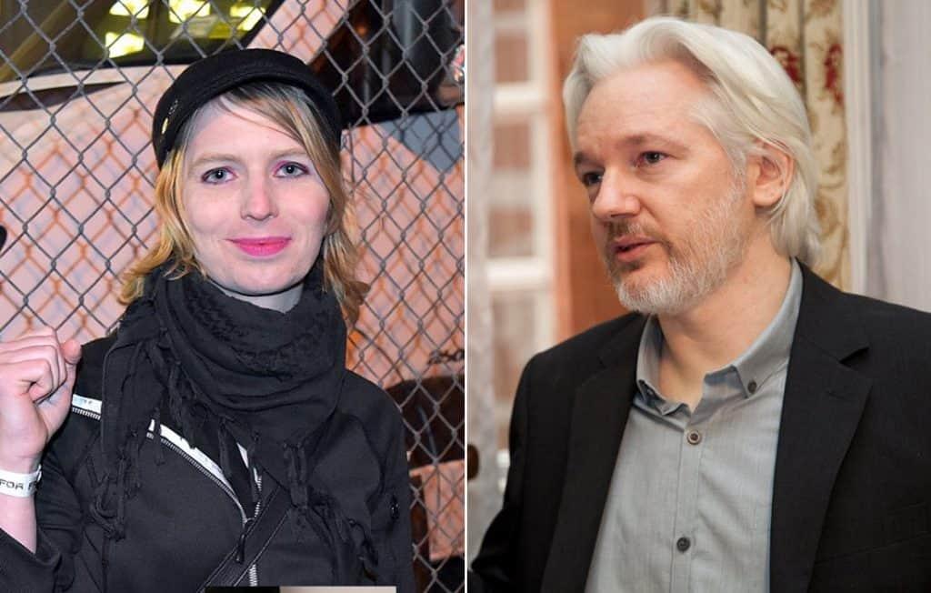 Chelsea Manning & Julian Assange