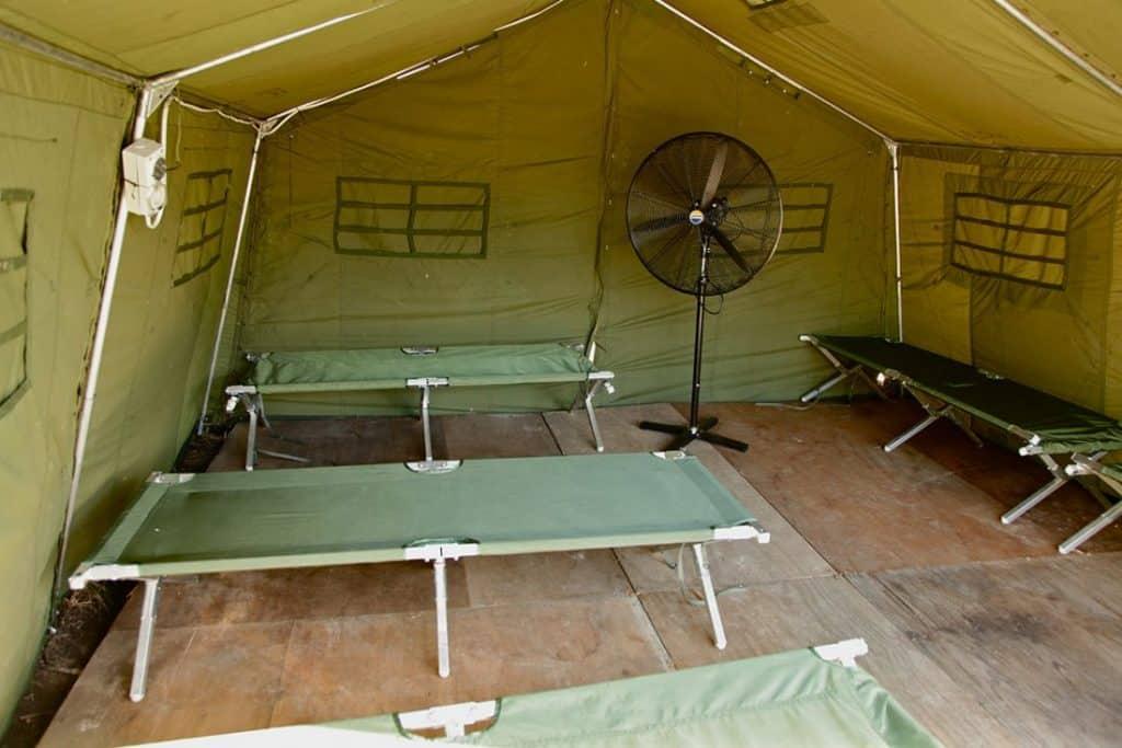 Sleeping quarters on Manus Island