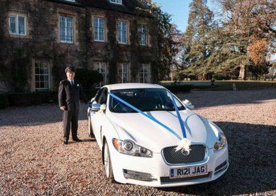 Louis and the Jaguar - South West Wedding Car Hire