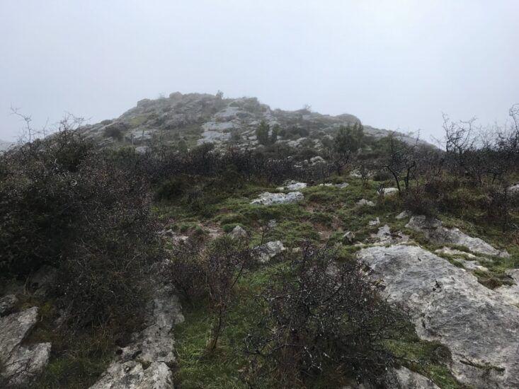 Monte Eretza desde Sodupe