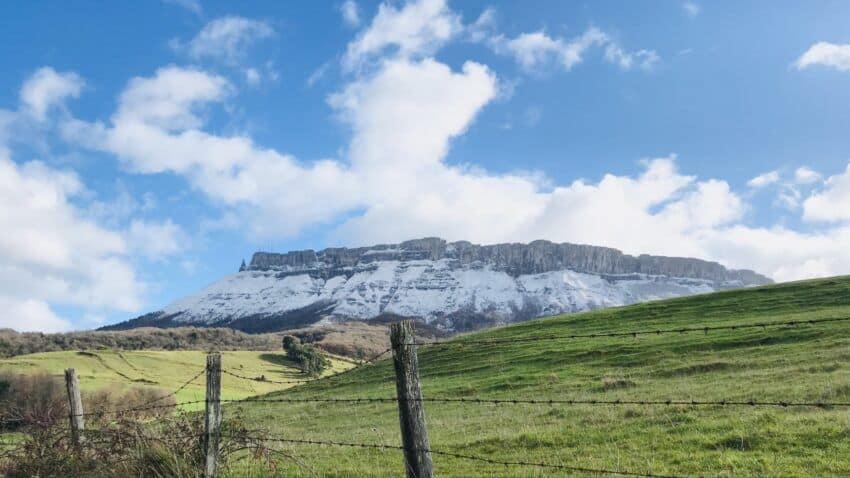 Castro Grande desde Cilieza