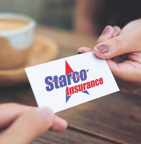 Starco insurance business card