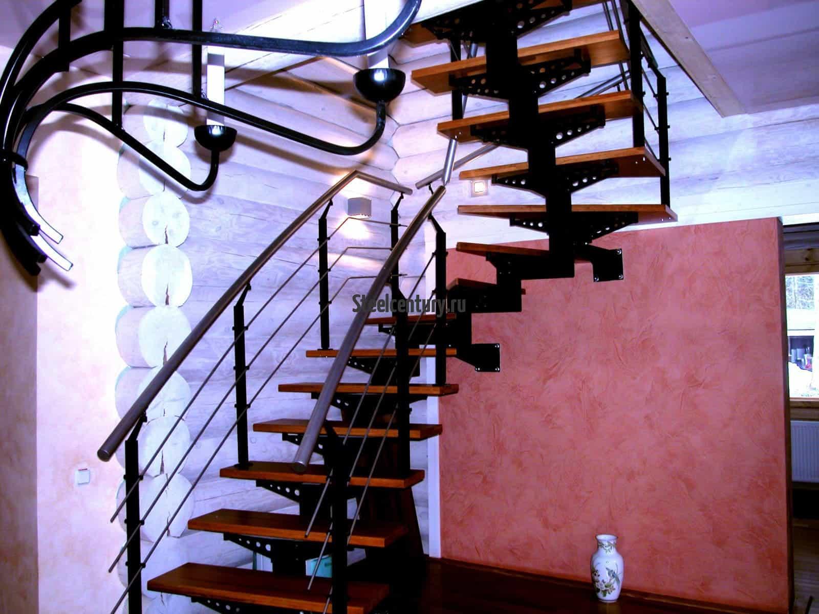 Частный дом лестница