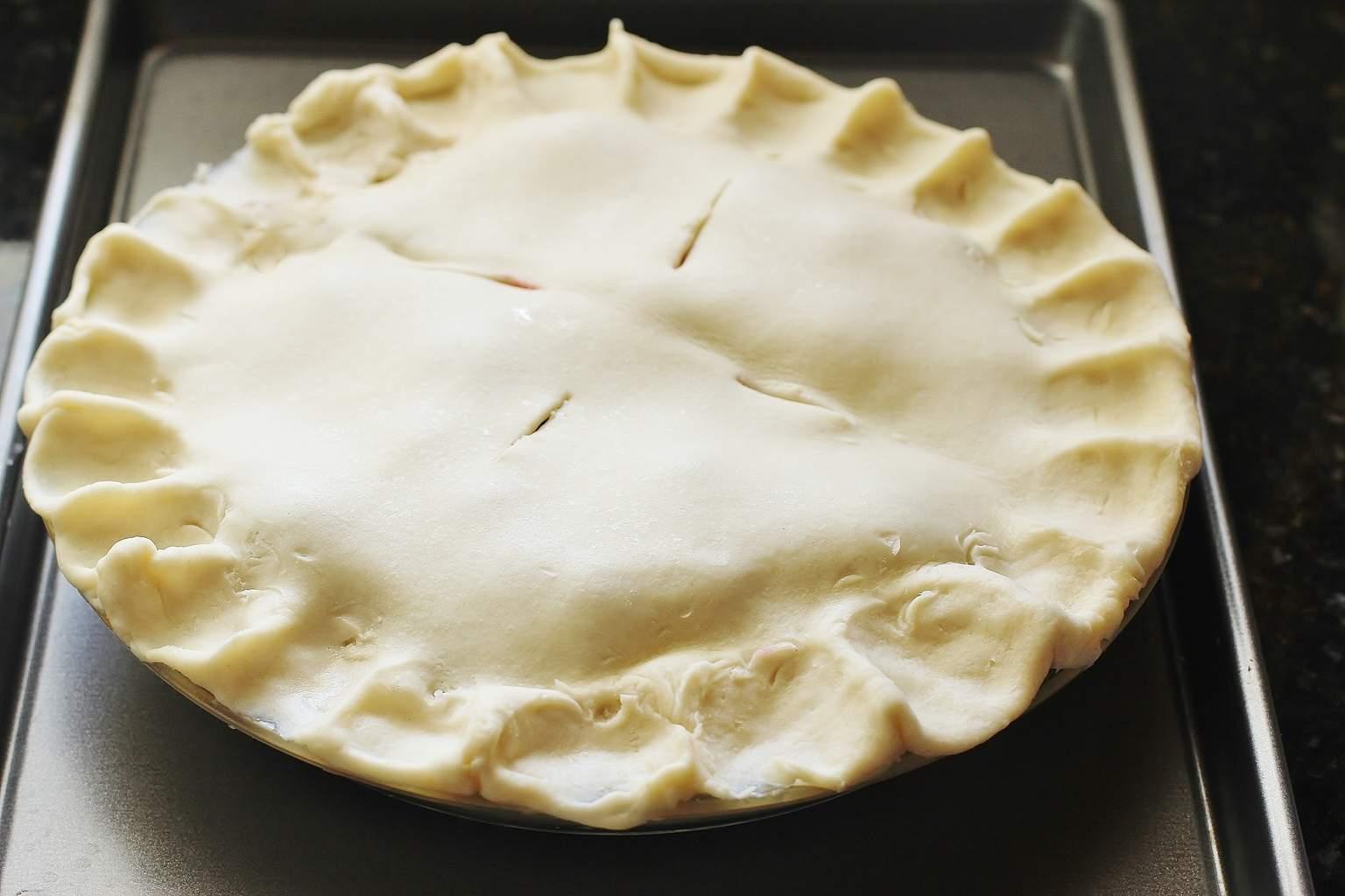 Double-crust Butter Pie Crust