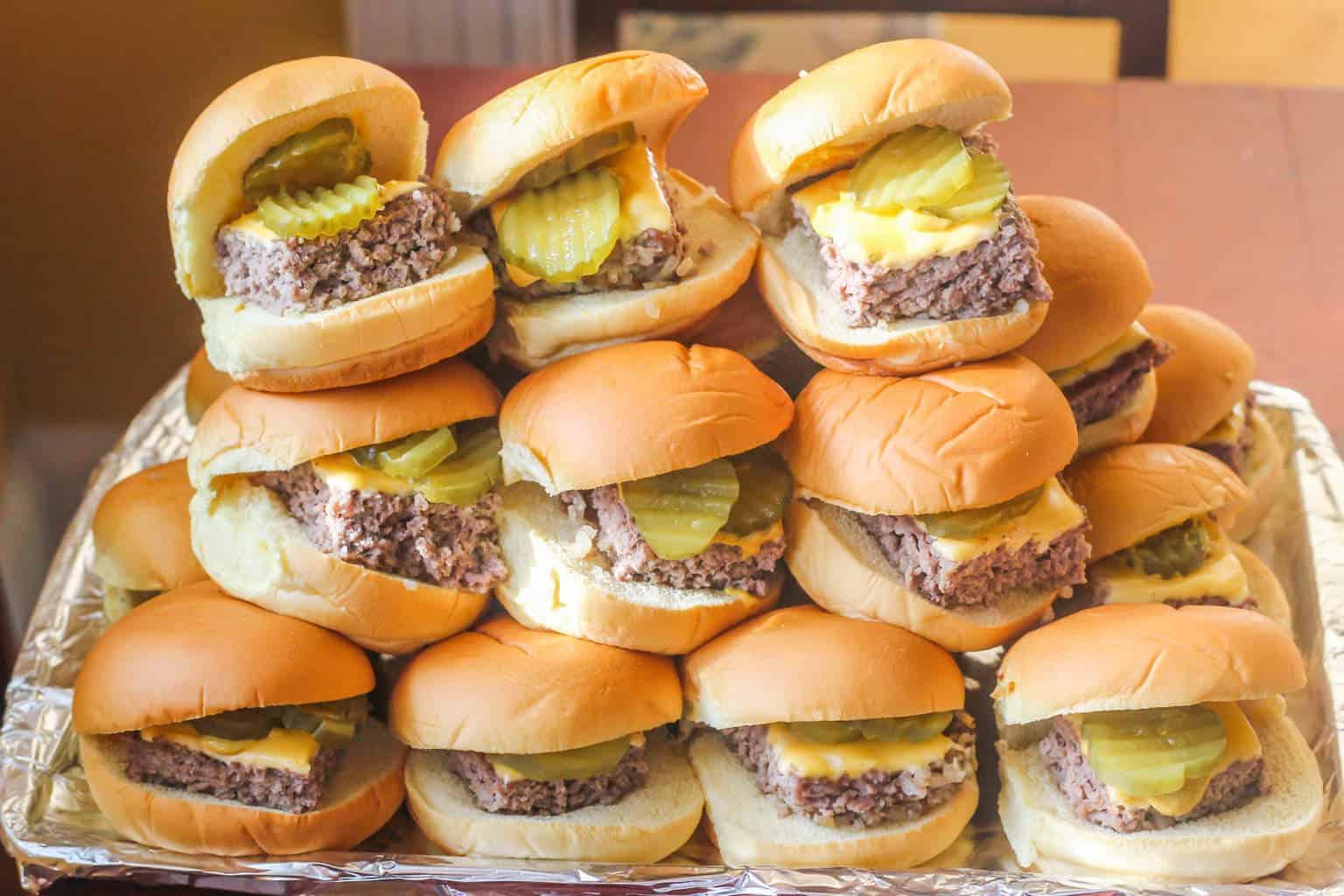 Copycat Krystal Hamburgers