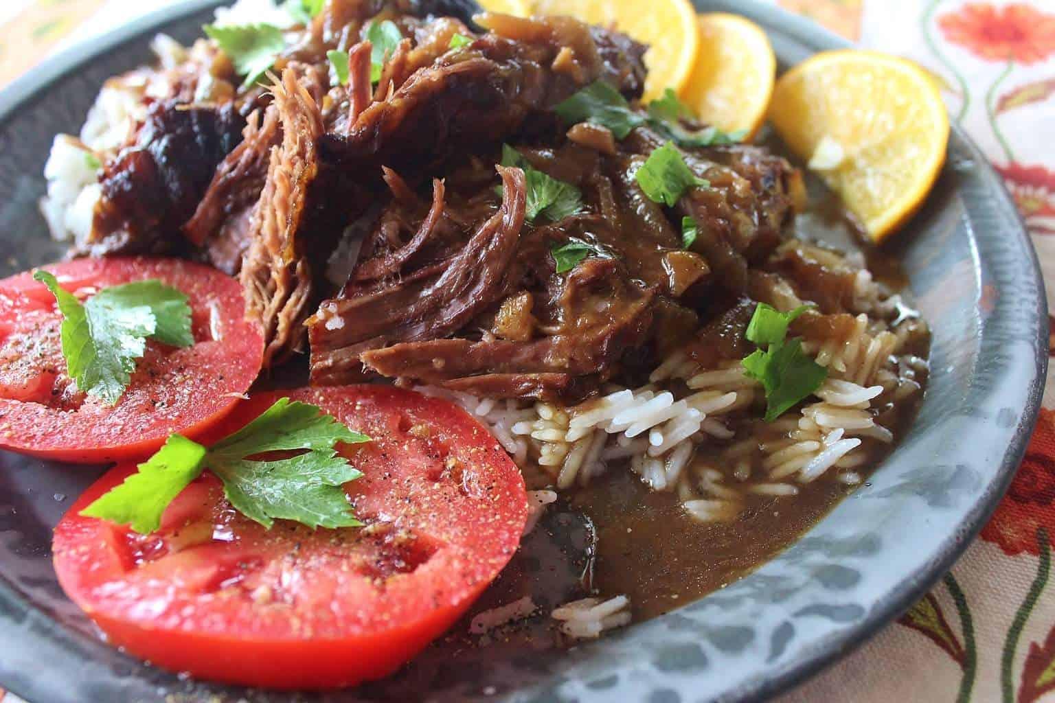 Surprise! (Recipe: Beef Pot Roast with Onion Gravy)