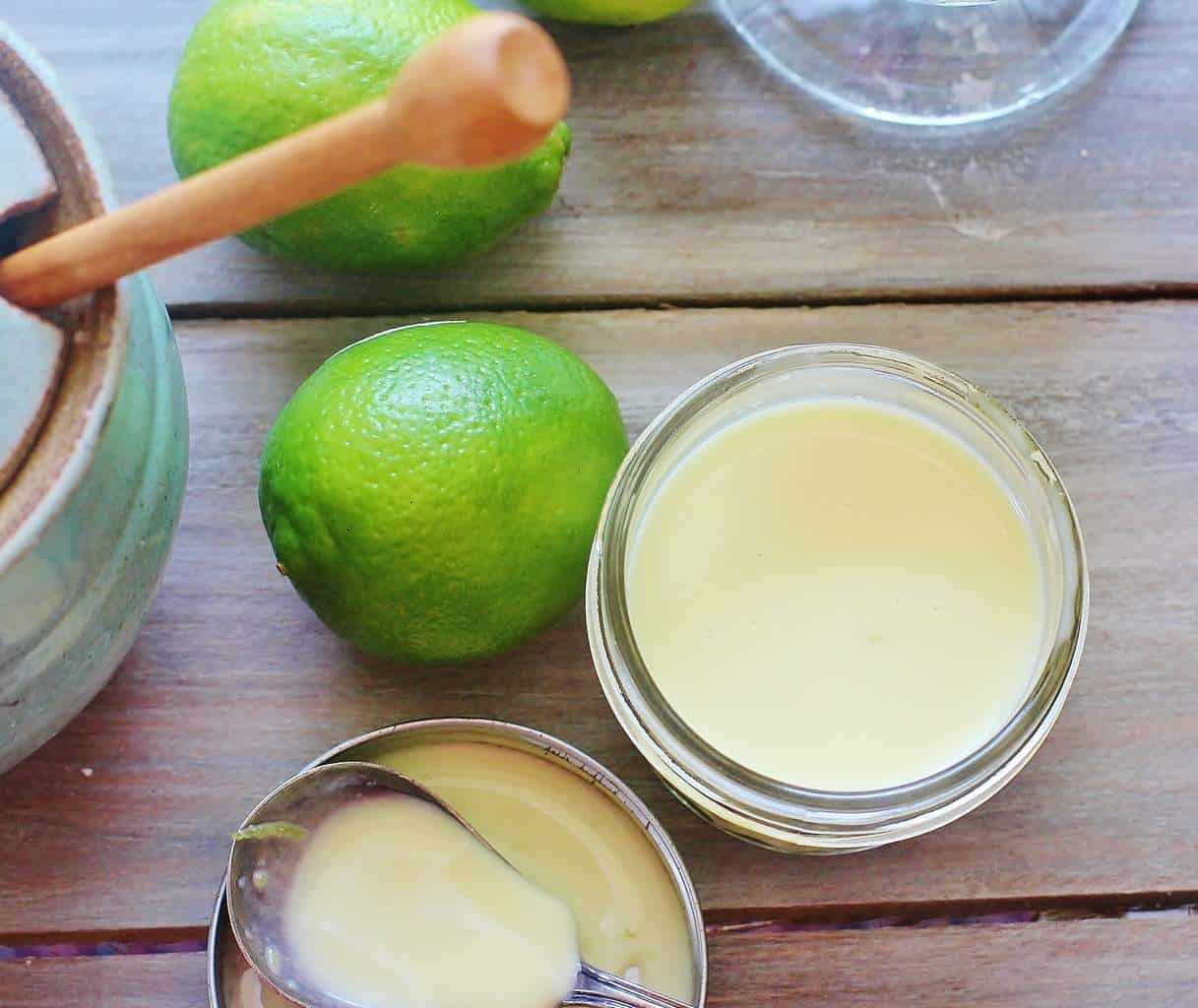 Creamy Honey Lime Salad Dressing