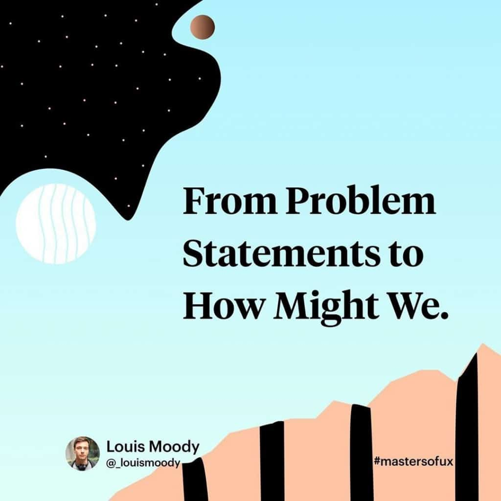 From Problem Statements to How Might We