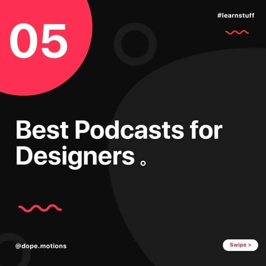 Top 5 Best Podcasts for Designers