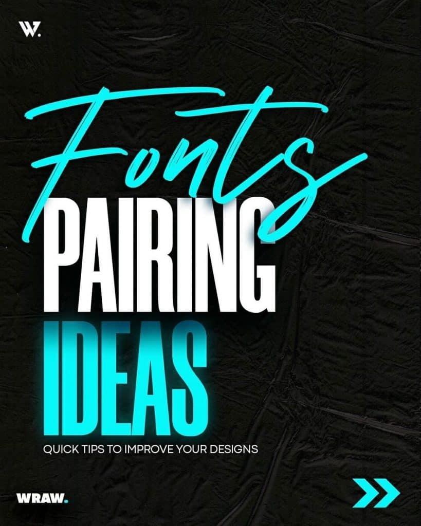 Fonts Pairing Ideas. Vol. 1