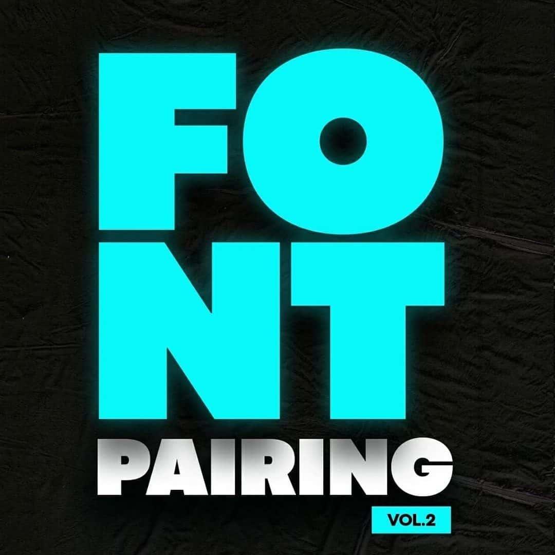Fonts Pairing Ideas. Vol. 2