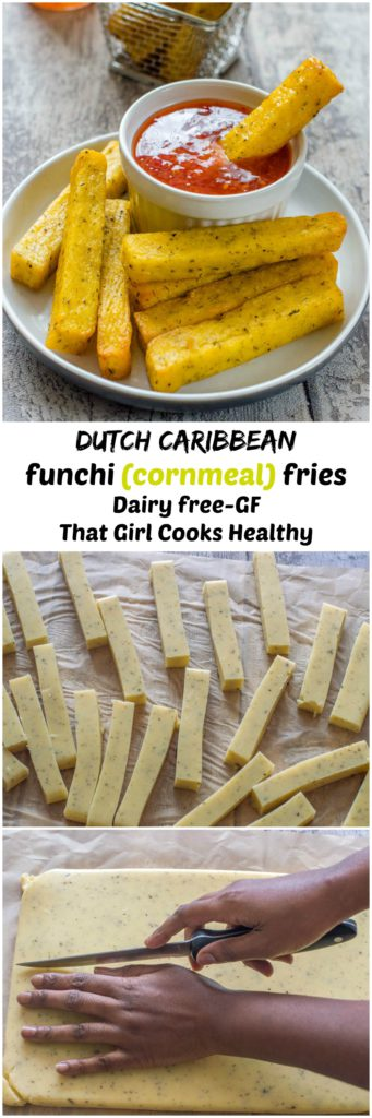 cornmeal mush makes the most amazing funchi fries ever
