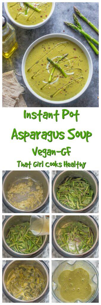 Long pin asparagus soup