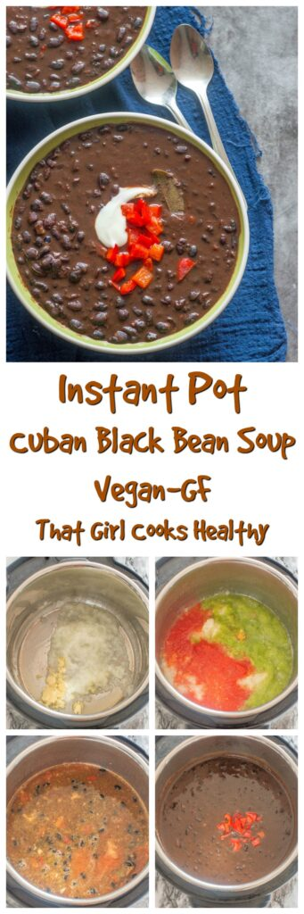 long pin black bean soup