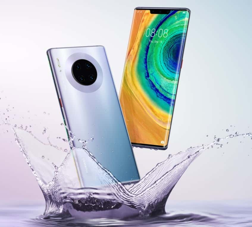 Huawei Mate 30 Pro Now Official with Waterfall Display and No Google Apps