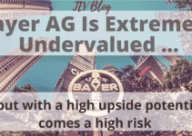 The Bayer Stock Is Extremely Undervalued Based On Its 20-Year Multiples (Update After 2 Quarter Results)