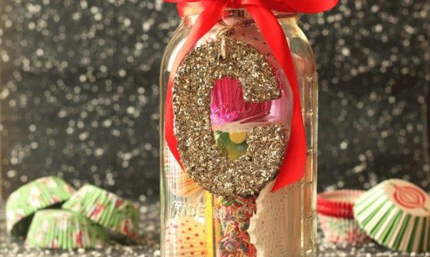 Cupcake Lovers Mason Jar Christmas Gift DIY