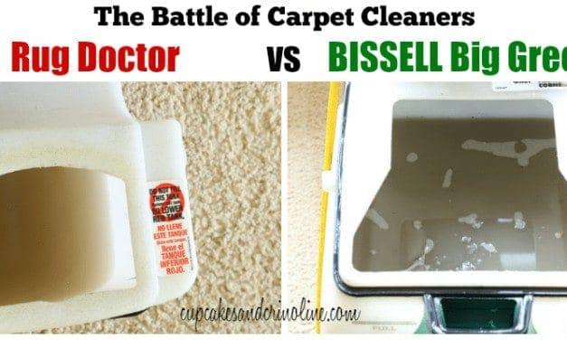 BISSELL Big Green versus Rug Doctor
