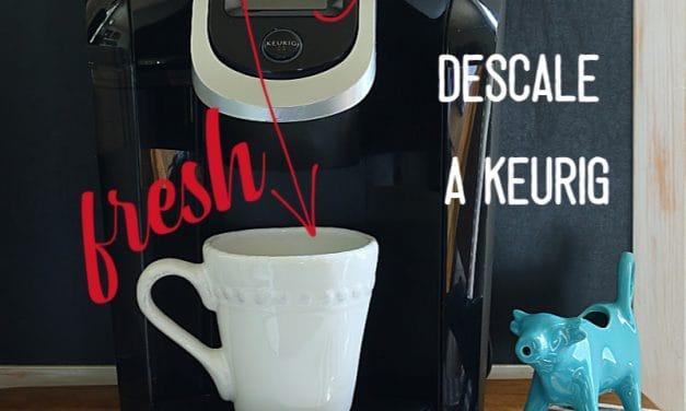 White Vinegar vs Keurig Descaling Solution