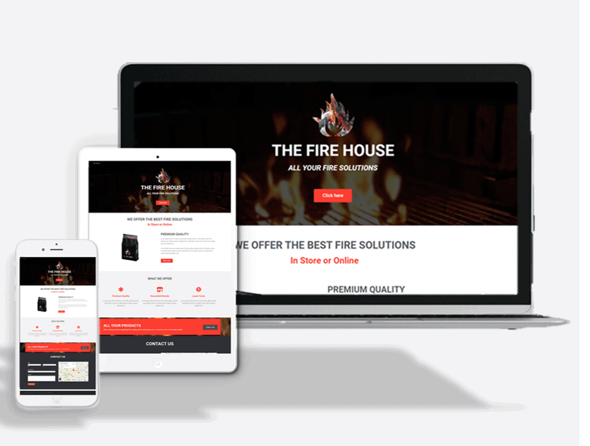 Charcoal Supplier Website Theme