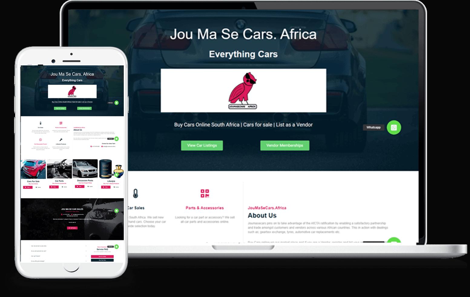 Web designer Johannesburg