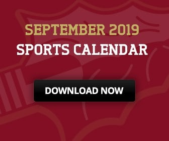 Download the September 2019 Sports Calendar