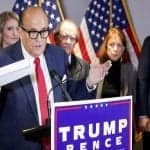 Giuliani claims evidences of U.S. electoral fraud, but he can't reveal it