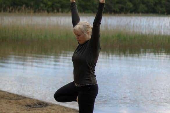 Weekendtur til Silkeborg i Danmark. 5 ting å få med seg på en helgetur til Silkeborg. Yoga på stranda i Silkeborg