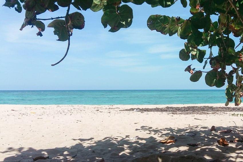 Vista desde Playa Maguana-Baracoa- Cuba
