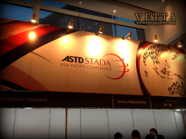 Networking Event for ASTD-STADA Asia Pacific Conference 2012 at Marina Bay Sands