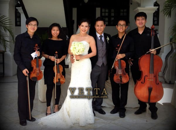 Wedding at Raffles Hotel