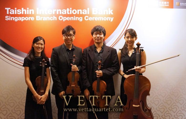 Taishin International Bank Singapore Branch Opening Ceremony