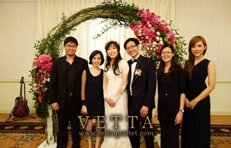 Peilin Wedding at Raffles Hotel