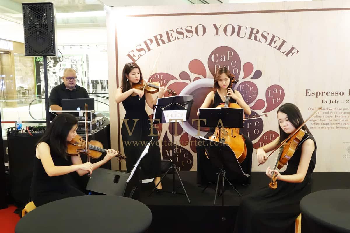 Esta Quartet for Espresso Italiano - Coffee Exhibition