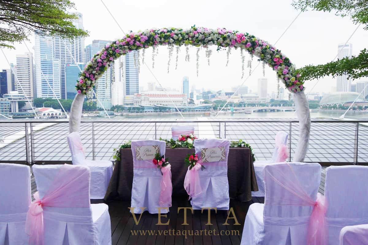 Wedding at Marina Bay Sands