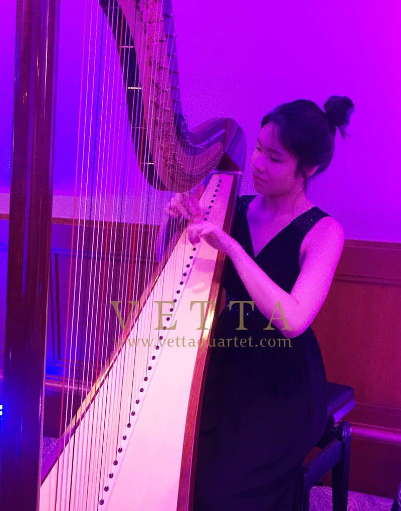 Harpist for Corporate Event at Four Seasons Hotel Singapore