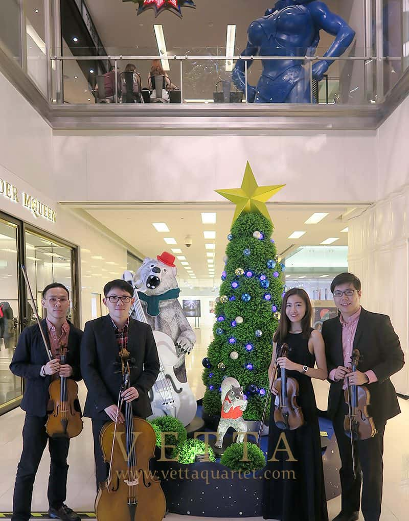 Christmas Performance at Scotts Square Atrium