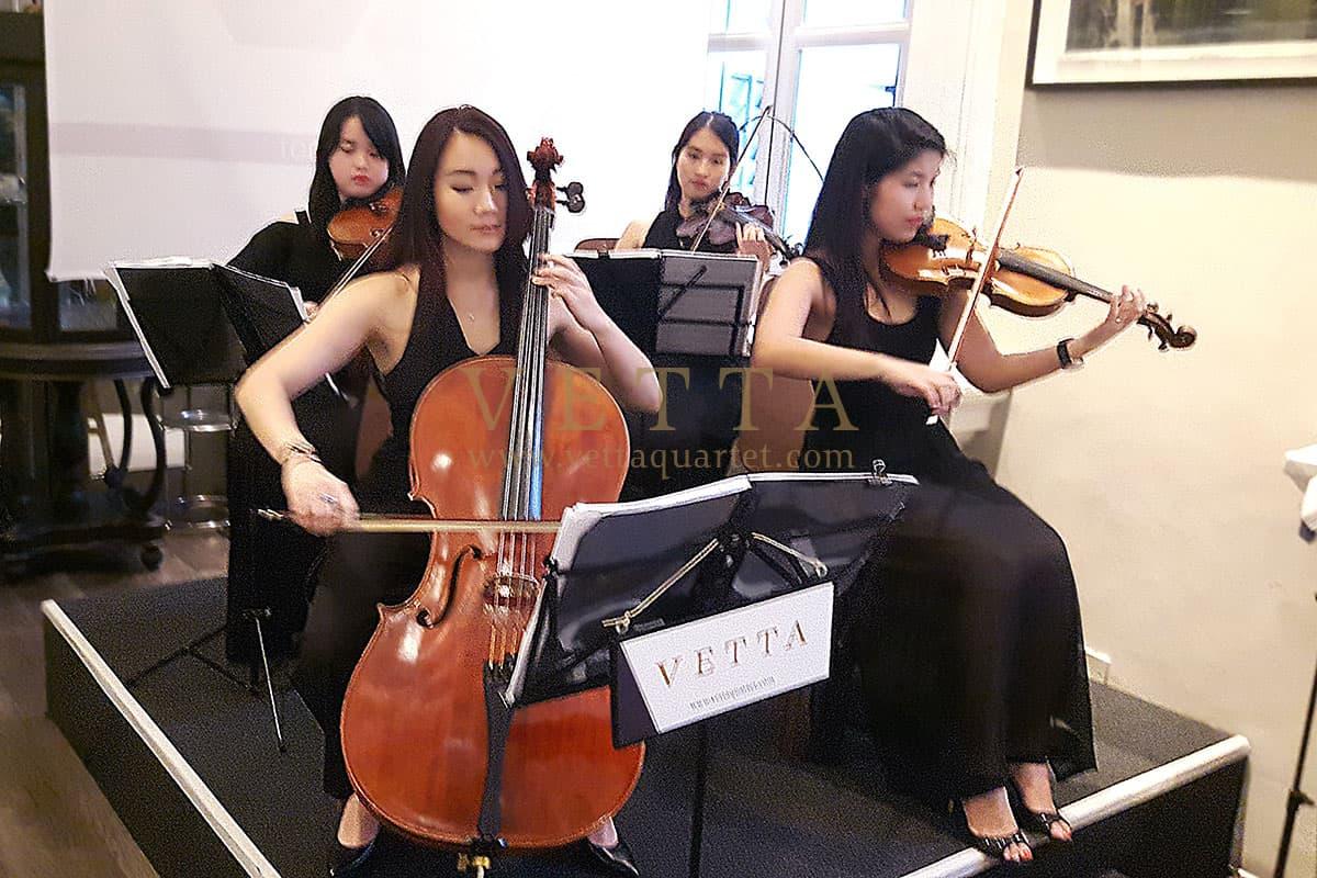 ESTA Quartet for Corporate Event at National Museum Flutes