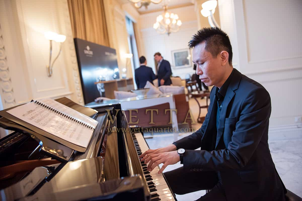 Solo Piano for Greubel Forsey Time Pieces Event at St Regis