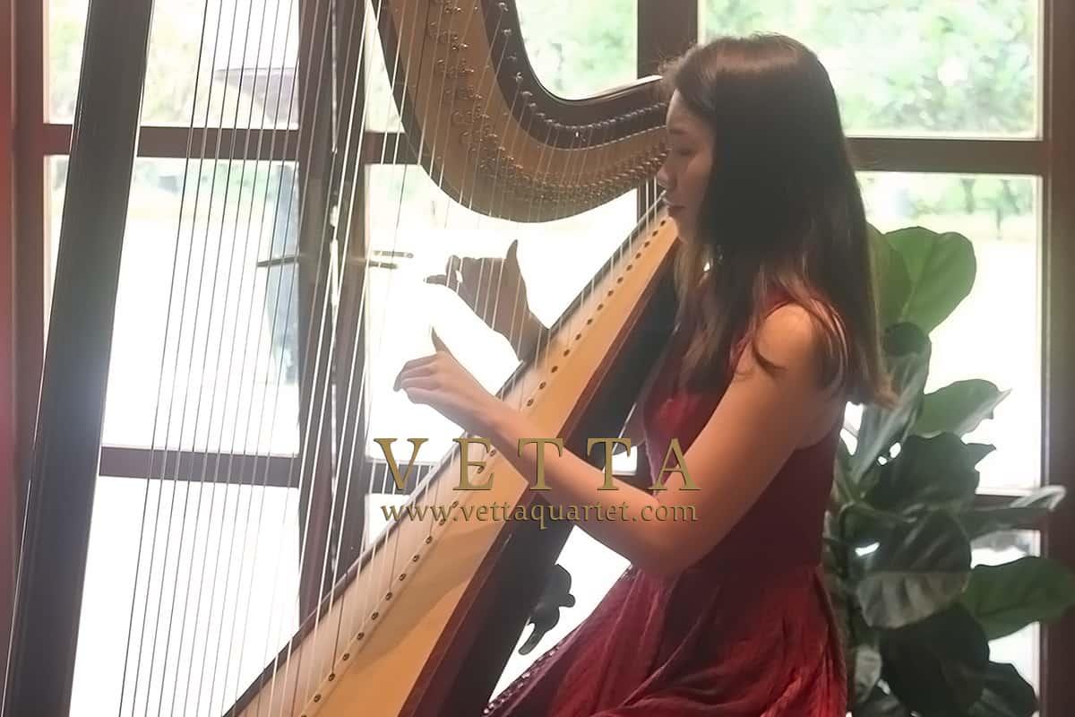 Harpist for Gregory & Shu Ann's Wedding at Sofitel Sentosa
