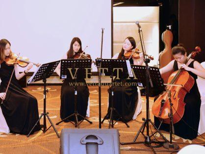 ESTA Quartet for Malay Wedding at Peninsula Excelsior Hotel