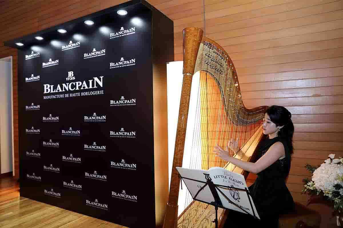 Harp as Corporate Entertainment Background Music for Blancpain Singapore