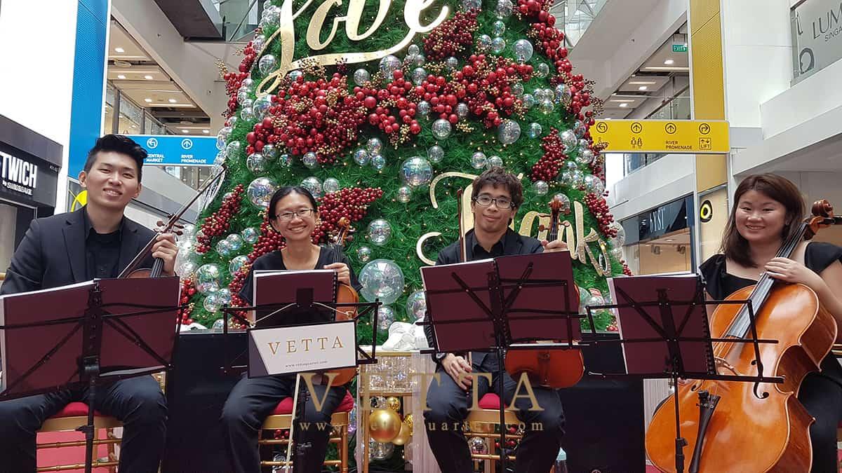 Christmas Performance at Clarke Quay