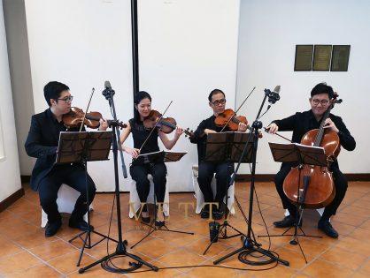 String Quartet – VETTA Singapore – Wedding Music, Event