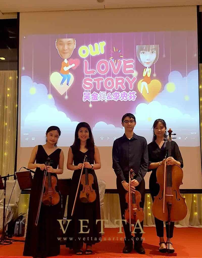 Yuna's Wedding at Le Méridien Singapore, Sentosa