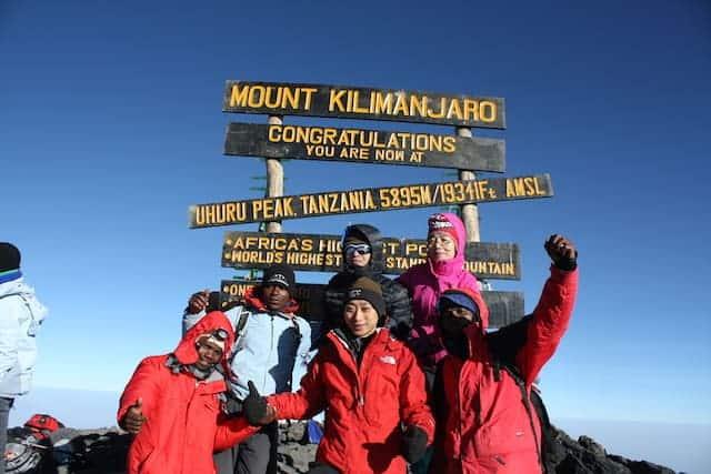 Beste Route für Kilimanjaro