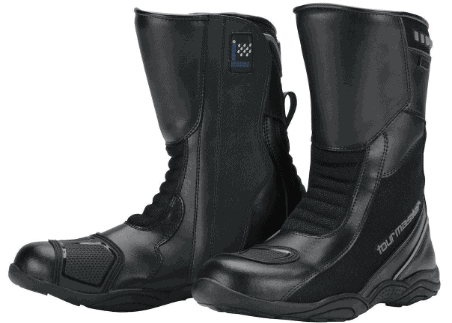 Tour Master Solution WP Air Road Men's Leather Sports Bike Motorcycle Boots